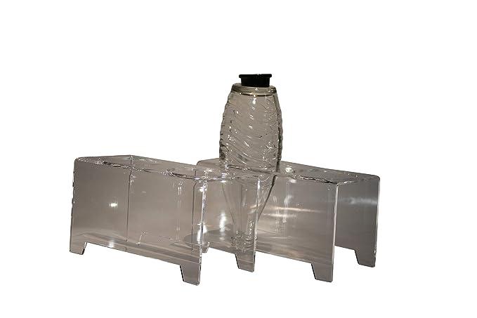 flexiPLEX Juego de 2 bottledry Twin Escurridor Plana y Soporte de ...