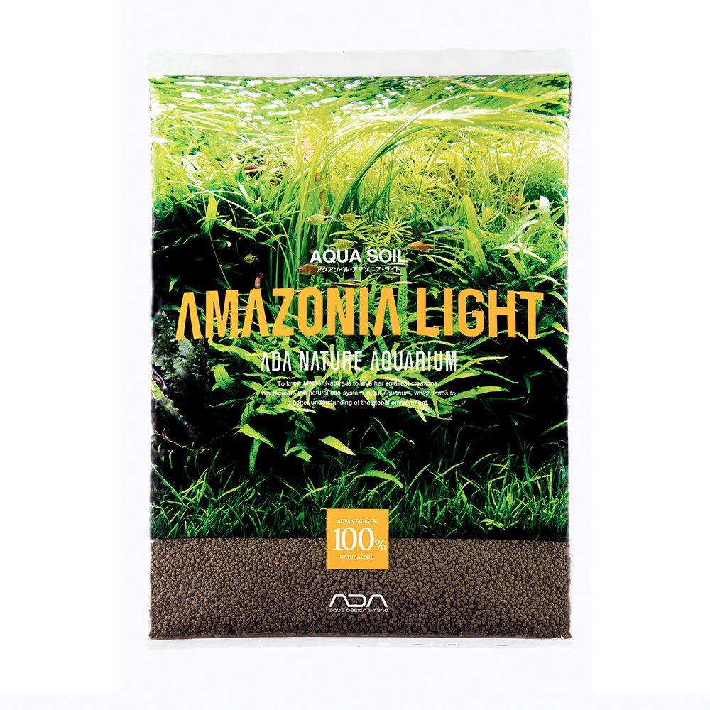 ADA Aqua Soil Amazonia Light (9 Liter) Normal Type by Aqua Design Amano