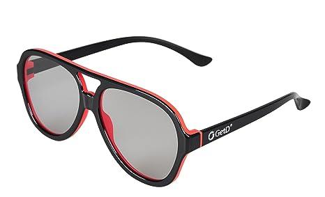 Ultra 4 Pares de Aviador Estilo Gafas 3D pasiva Universal para ...