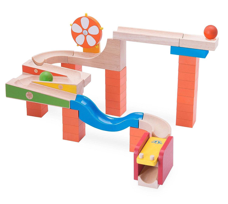 wonderworld  組立木製玩具 Trix Trackグロウ&ロール  TYWW7006   B00IG33COY