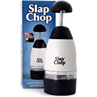 Original Slap Chop Slicer with Stainless Steel Blades | Vegetable Chopper Gadget | Mini Chopper for Salads | Kitchen Accessory
