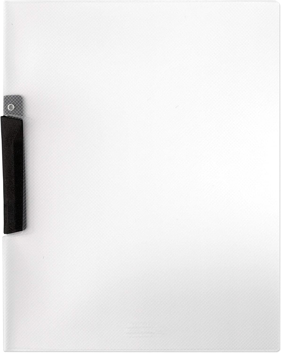 Lion Clear-Line Swing Lock Report Cover, Clear, Pack of 4 (91220-CR-4P) : Colored File Folders : Office Products