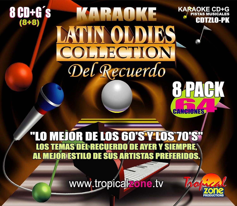 KARAOKE LATIN OLDIES 64 MEJORES HITS: Amazon.es: Instrumentos musicales