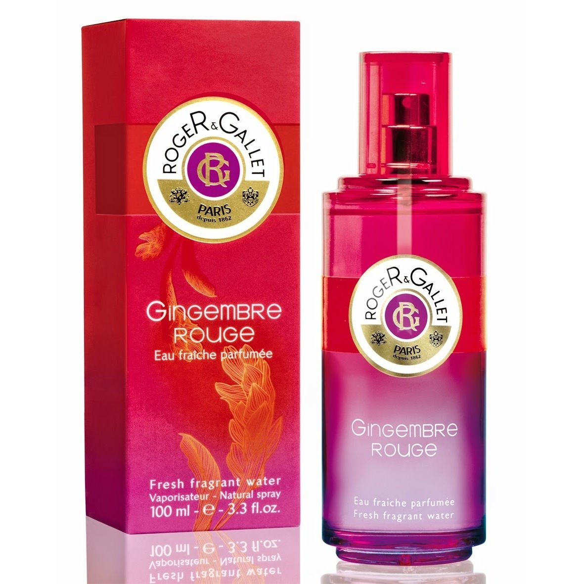 Roger Gallet Gingembre Rouge Fragrant Wellbeing Water 50ml 2524581
