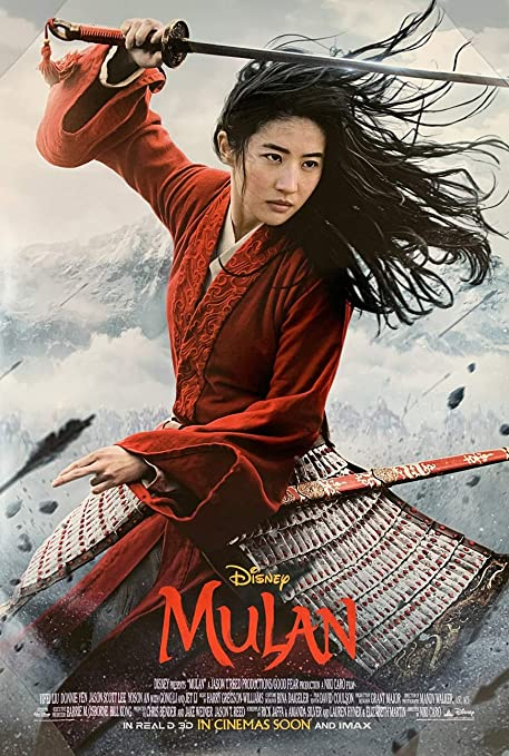 Amazon.com : MULAN MOVIE POSTER 2 Sided ORIGINAL INTL FINAL 27x40 DISNEY  YIFEI LIU : Everything Else