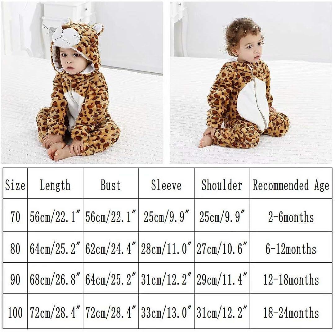 Baby Animal Costumes Unisex Toddler Onesie Pajamas Halloween Dress Up Romper