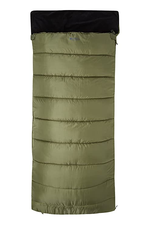 Mountain Warehouse Sutherland Sleeping Bag - Fishing Sleeping Bag Khaki