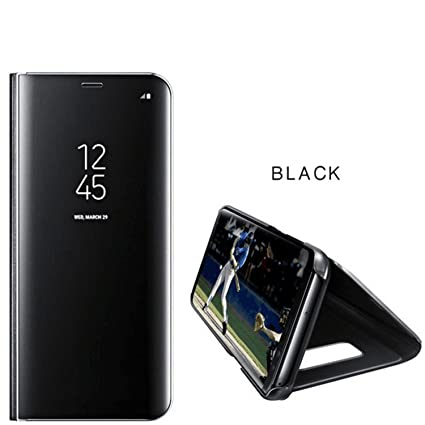 new concept 6670b 24338 Amazon.com: LEWEI Clear View Smart Mirror Case For Samsung Galaxy S9 ...