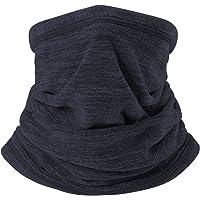 H HOME-MART Neck Warmer Gaiter Ski Winter Balaclava for Men and Women, Winter Face Mask Scarf Tube Cover Bandanas for…