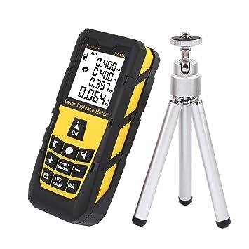 Laser Distance Measurer 131ft 40m Handheld Digital Laser Distance Meter