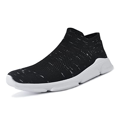 ALLY UNION MAKE FORCE Mens Womens Walking Shoes Lightweight Mesh Slip-on Running Sneakers: Shoes