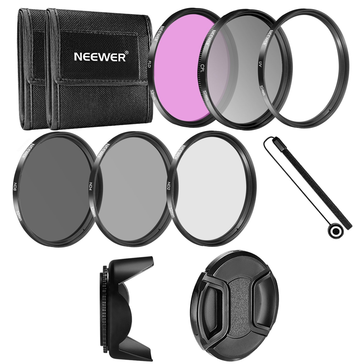 Neewer® 52MM Camera Lens Filter Accessory Kit 10084905