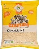 24 Mantra Organic Sonamasuri Raw Rice Polished, 1kg