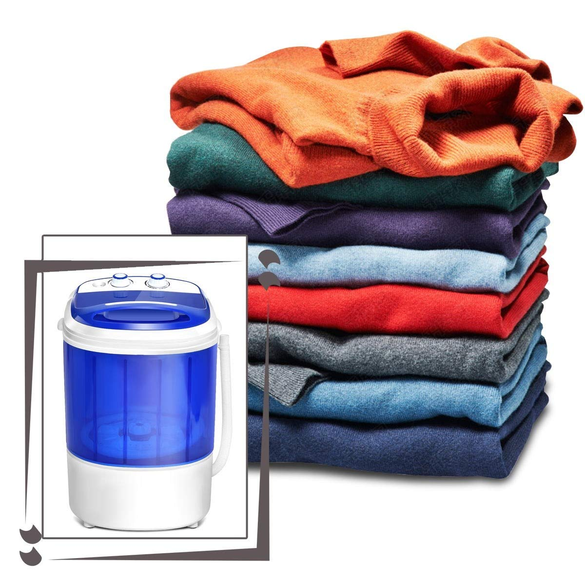 MD Group Mini Portable Washer Washing Machine by MD Group (Image #8)