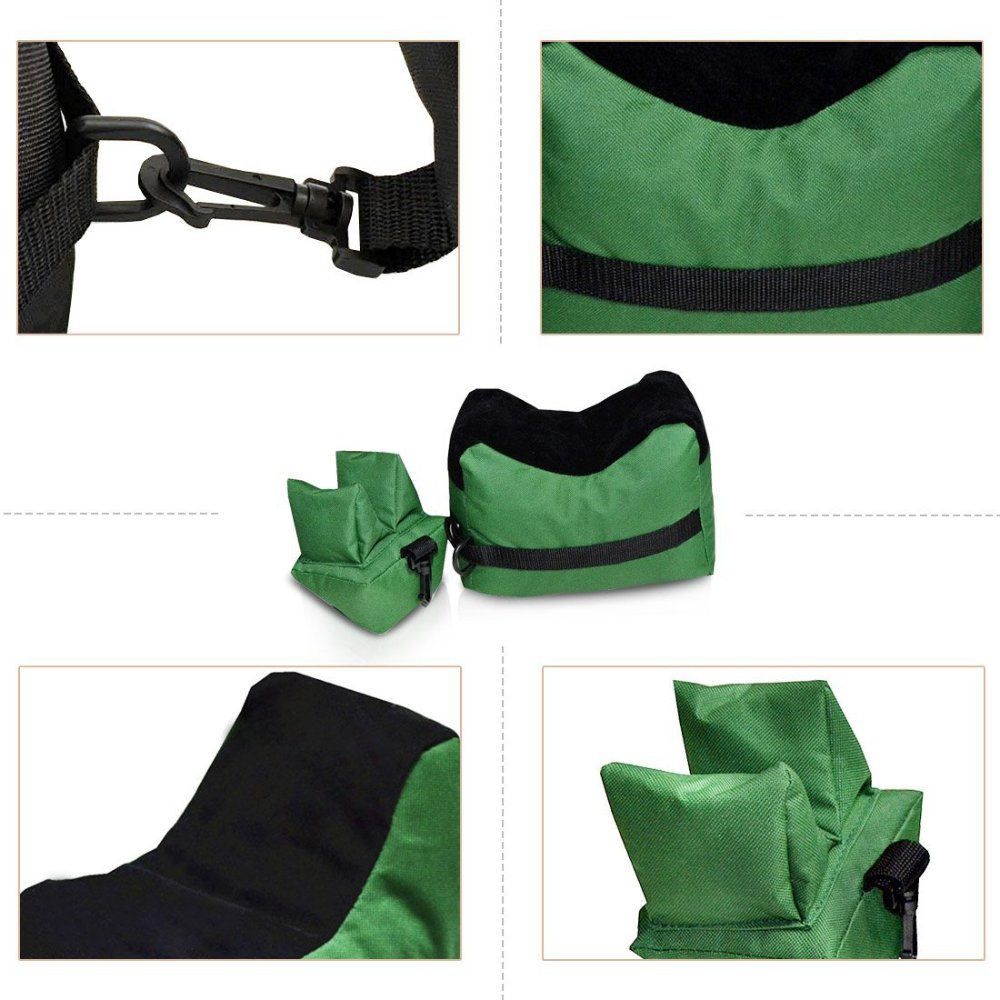 TEKCAM Shooting Rest Bag Set Outdoor Rifle Target Sports Bench Steady Unfilled Front & Rear Bags for Shooting Hunting by TEKCAM (Image #5)