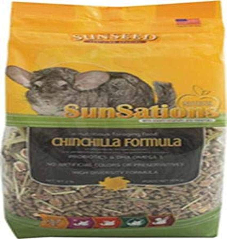 Sunseed Company 36063 Sensations Chinchilla Food, 2 Lb
