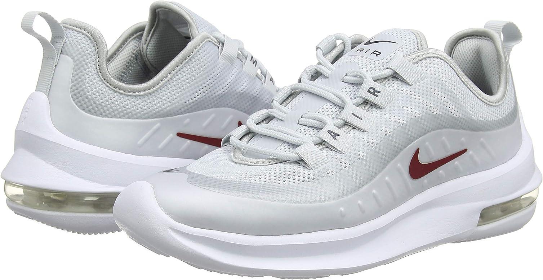 fd262f7020 Nike Damen Air Max Axis Laufschuhe, Mehrfarbig (Pure Platinum/Red Crush/ Blackened