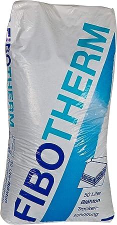 FiboTherm Trockensch/üttung 4?8 mm Estrichsch/üttung 50 Liter Fibo Therm Sch/üttung Bodenausgleichsmasse Ausgleichsmasse Estrich
