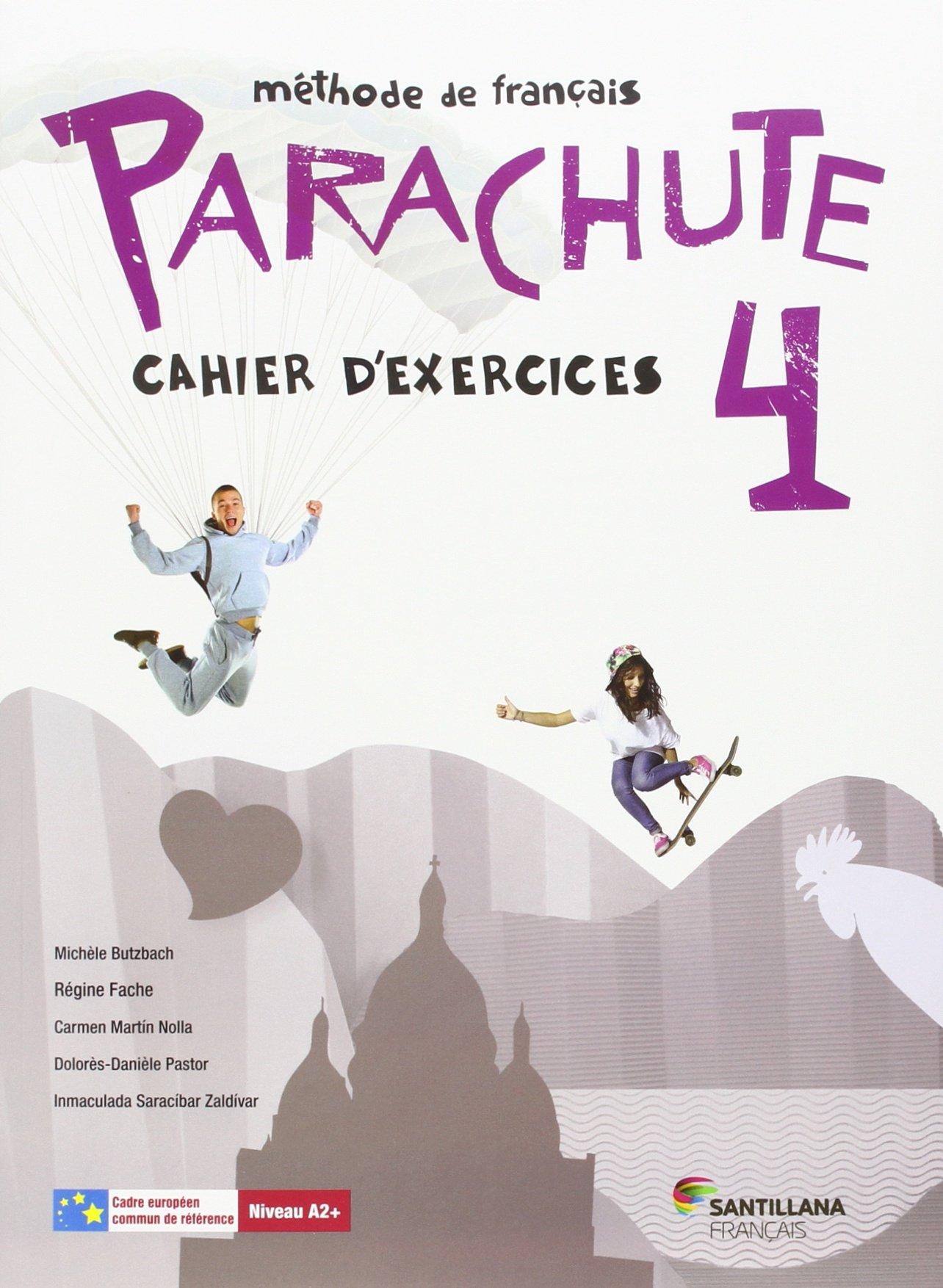 PARACHUTE 4 PACK CAHIER D'EXERCICES - 9788490492154 Tapa blanda – 18 jul 2016 Varios autores Santillana Français 8490492158 Lengua extranjera: francés