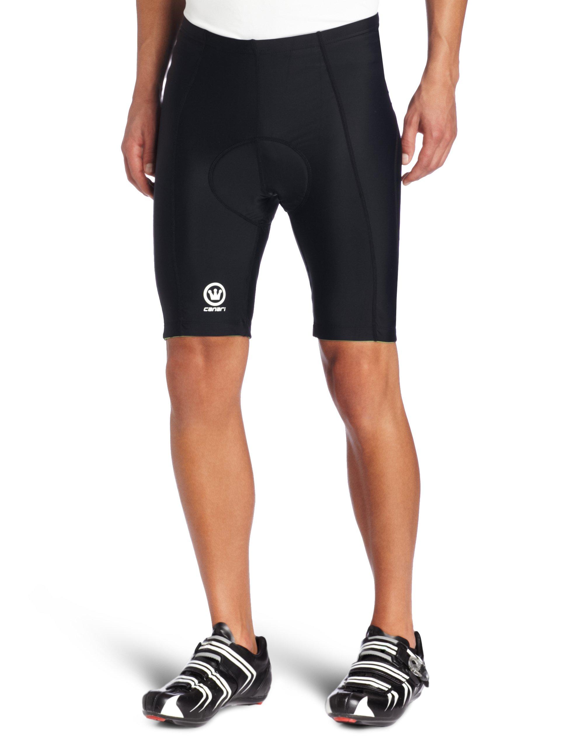Canari Velo Gel Cycling Short Mens (Black) X-Large by Canari Cyclewear (Image #1)