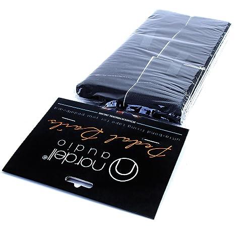 Tira de velcro autoadhesivo para pedales de guitarra eléctrica (1,3 m)