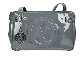 91b6d5f24c2 Buy Armani Jeans Womens 922527Cc855 Shoulder Bag Grey Size  17X10X28 ...