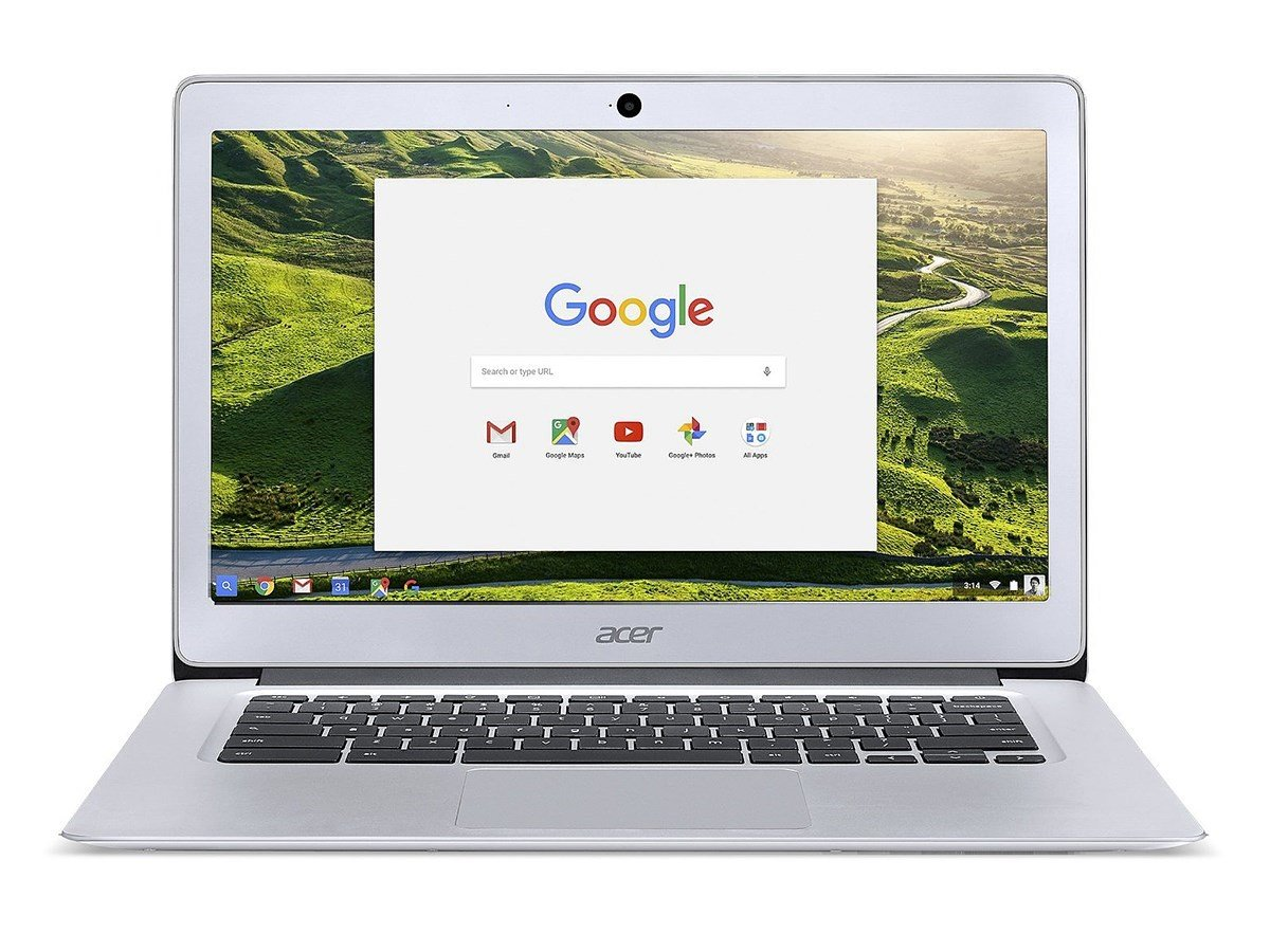2018 Acer 14' FHD IPS Display Premium Flagship Business Chromebook-Intel  Celeron Quad-Core Processor Up to 2 24Ghz, 4GB RAM, 32GB SSD, HDMI, WiFi,