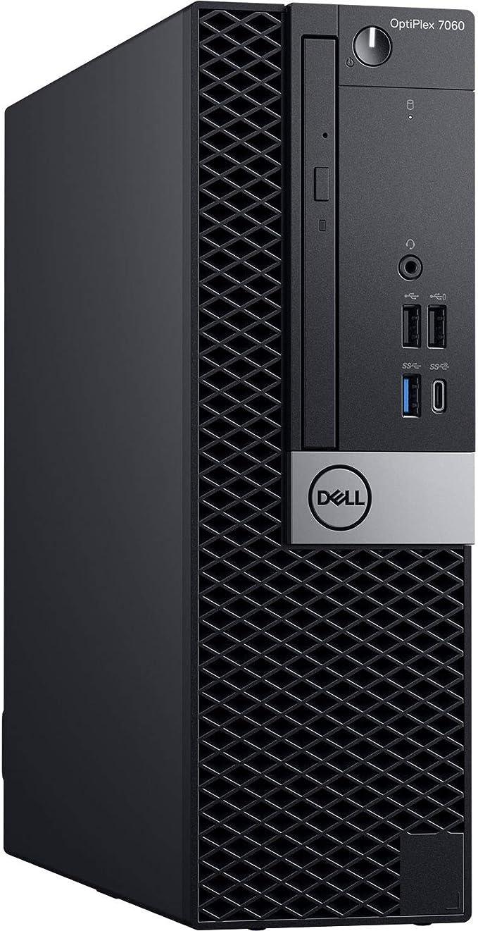 Dell OptiPlex 7060 SFF Desktop Computer Intel Core i7-8700 3.2GHz (Up to 4.60GHz) 6-Core CPU, 16GB DDR4-2666MHz Memory, 1TB NVMe SSD, Windows 10 Pro | Amazon