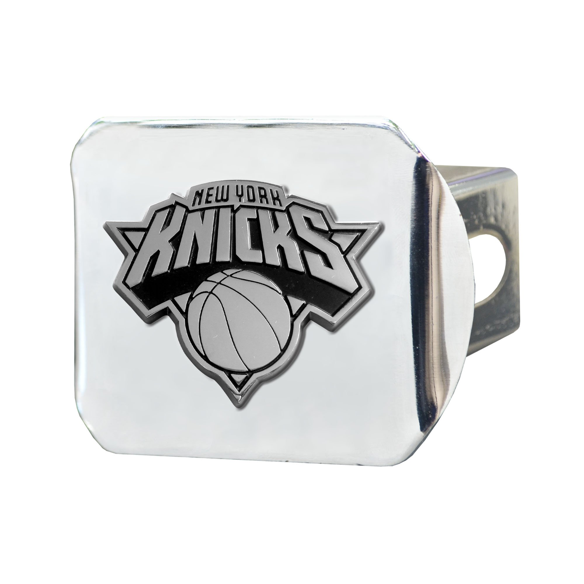 FANMATS NBA New York Knicks Chrome Hitch Cover by Fanmats