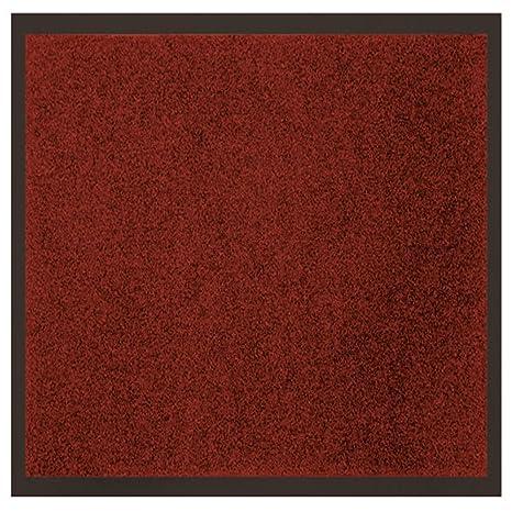 Tapis Deco Tapis Anti Poussiere Rouge 60 X 80 Cm Amazon Fr
