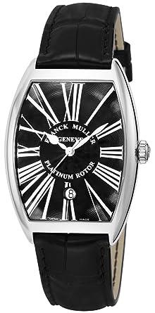 outlet store d18af ada28 [フランクミュラー]FRANCK MULLER 腕時計 トノーカーベックス ブラック文字盤 自動巻 6850BSCDTRA-BLK-BLK メンズ  【並行輸入品】