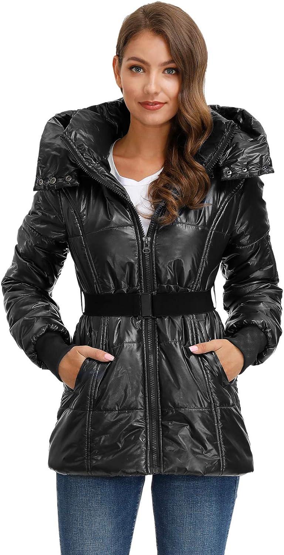 GRACE KARIN Sweatjacke Damen Winter Mantel Jacke Naketano Mit Kapuze CL2123