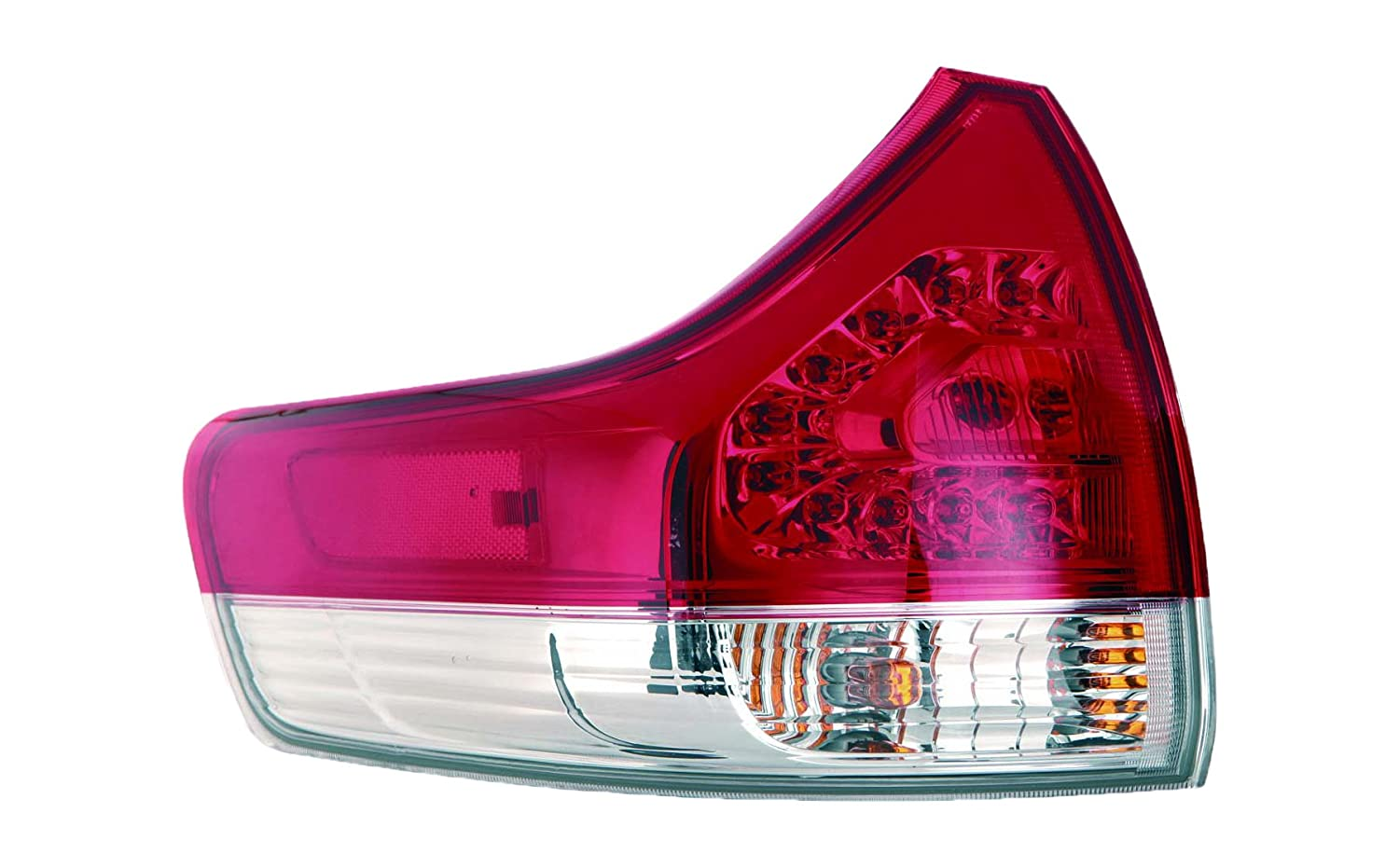 Depo 312-19A6L-AF Toyota Sienna Driver Side Outer Tail Lamp Assembly with Bulb and Socket (NSF Certified)