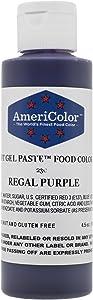 Americolor Soft Gel Paste Food Color, 4.5-Ounce, Regal Purple
