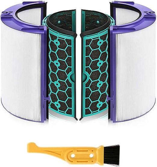 Adanse Filtro HEPA Filtro de CarbóN Activado para HP04 TP04 DP04 ...