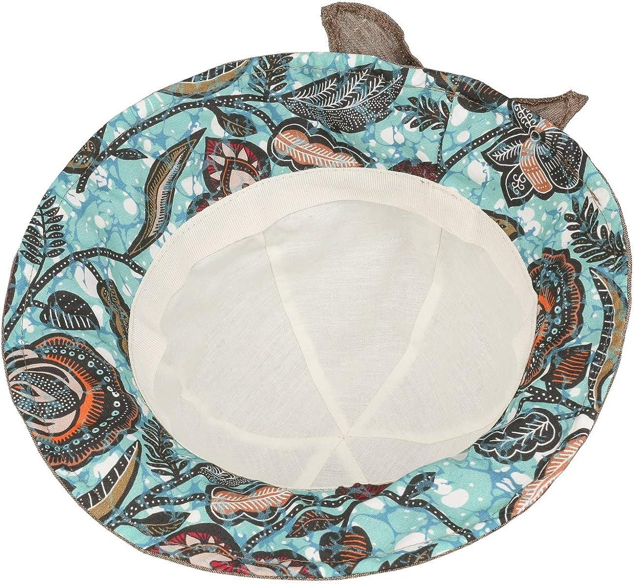 Lipodo Chapeau en Tissu Balima Femme Made in Italy DEte Cloche de Soleil Printemps-ete