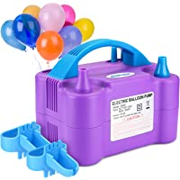 AGPtek Portable High Power Air Blower Electric Balloon Inflator Pump for Party
