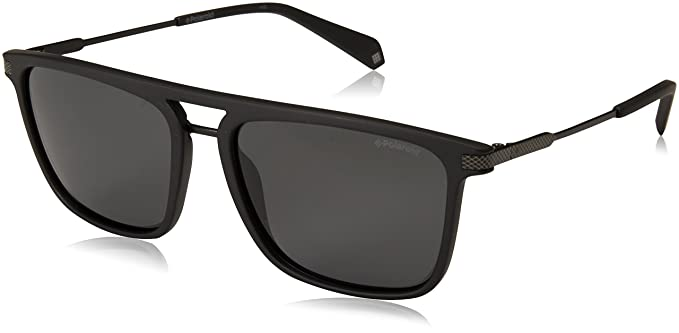 04de7aced87d Image Unavailable. Image not available for. Color  Polaroid Sunglasses PLD  2060 s Polarized Rectangular Sunglasses