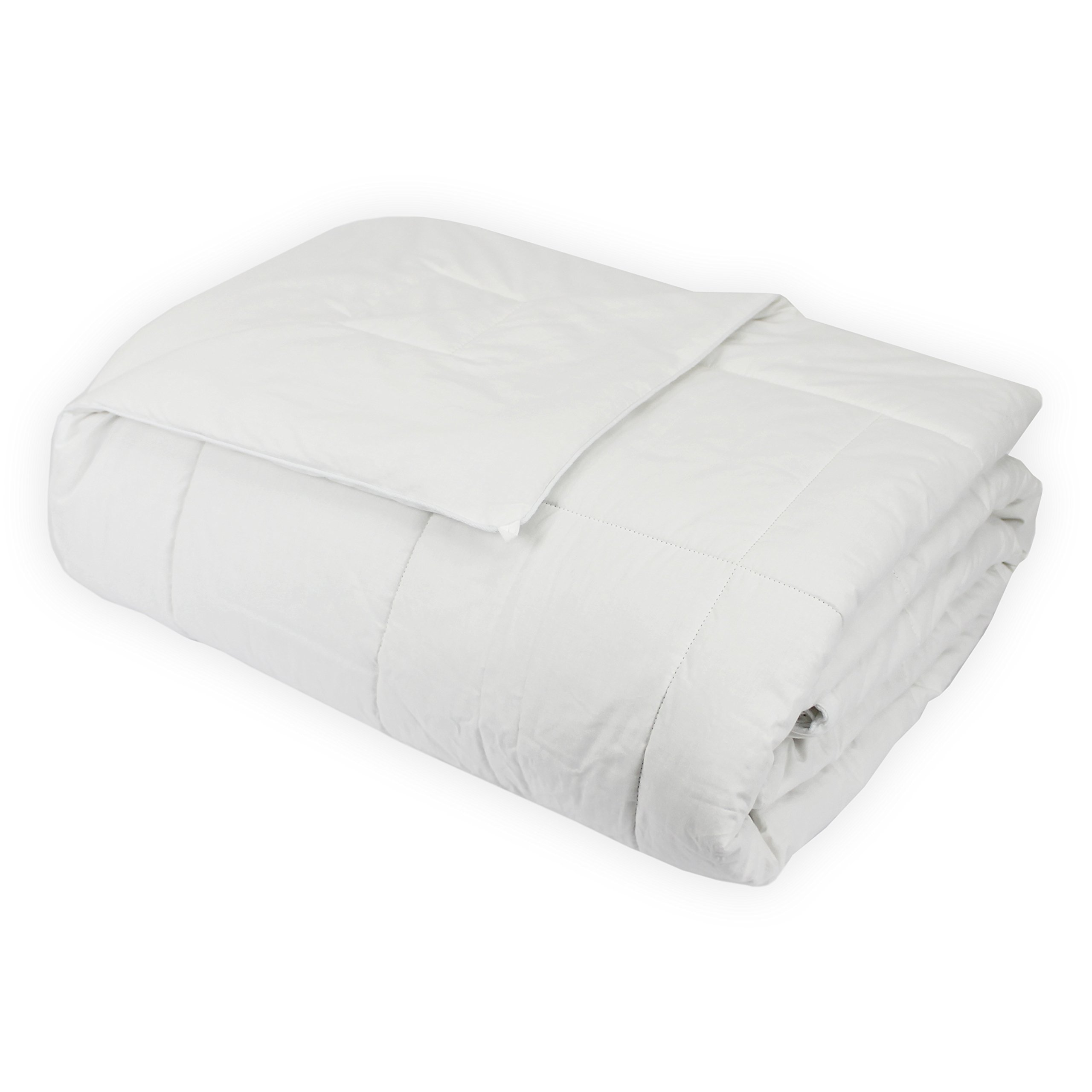 Century Home C700-141 Signature Collection Natural Long Strand Silk Filled Comforter, Twin