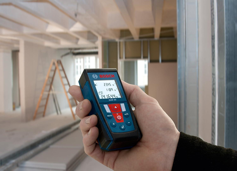 Bosch Entfernungsmesser Glm 50 Test : Bosch professional 50 m laser entfernungsmesser: amazon.de: baumarkt