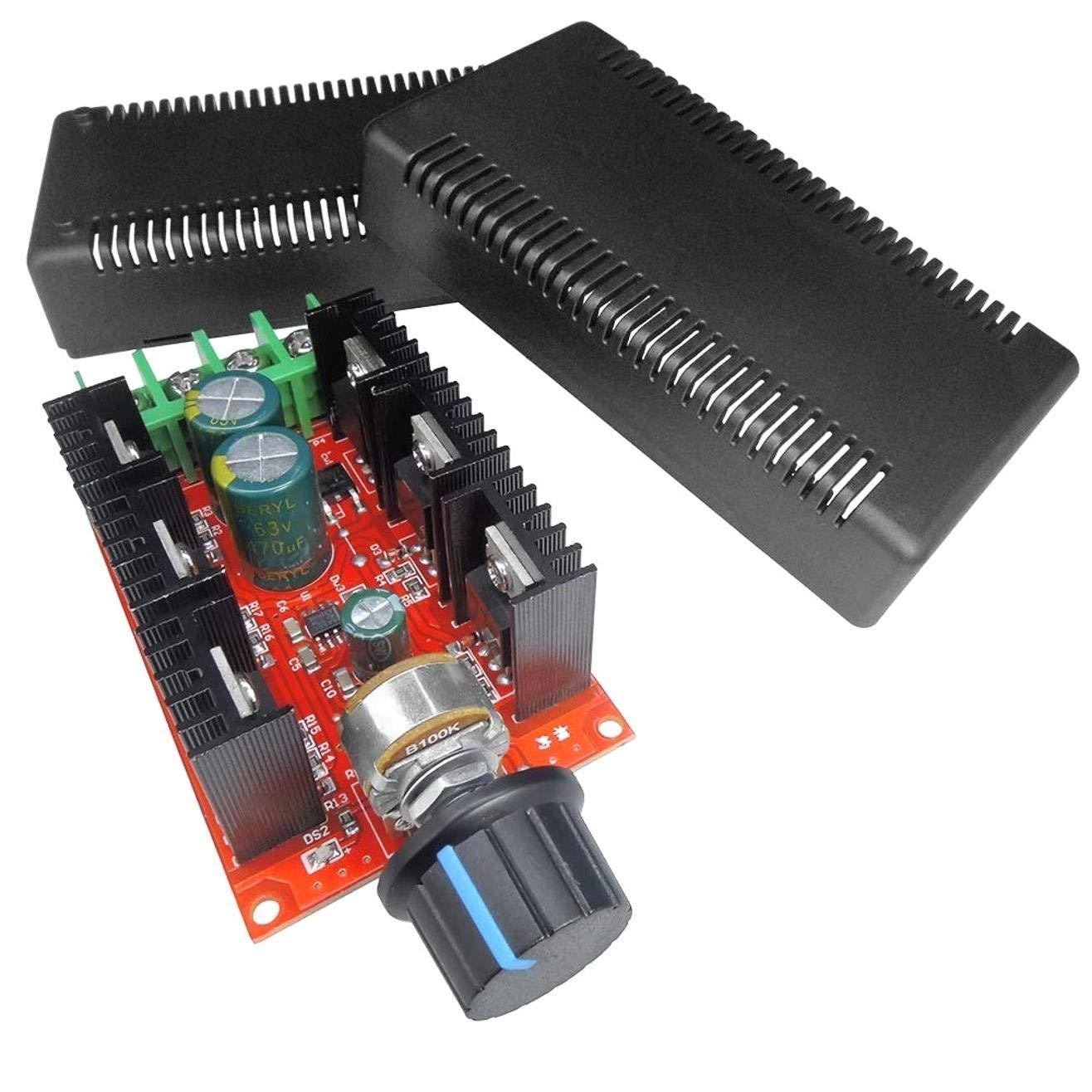 DULALA Motor Drehzahlregelung PWM HHO RC Controller 12V 24V 48V 2000W MAX 10-50V 40A DC