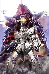 122818 Mobile Suit Gundam Unicorn Animee Decor Decor Wall 16x12 Poster Print