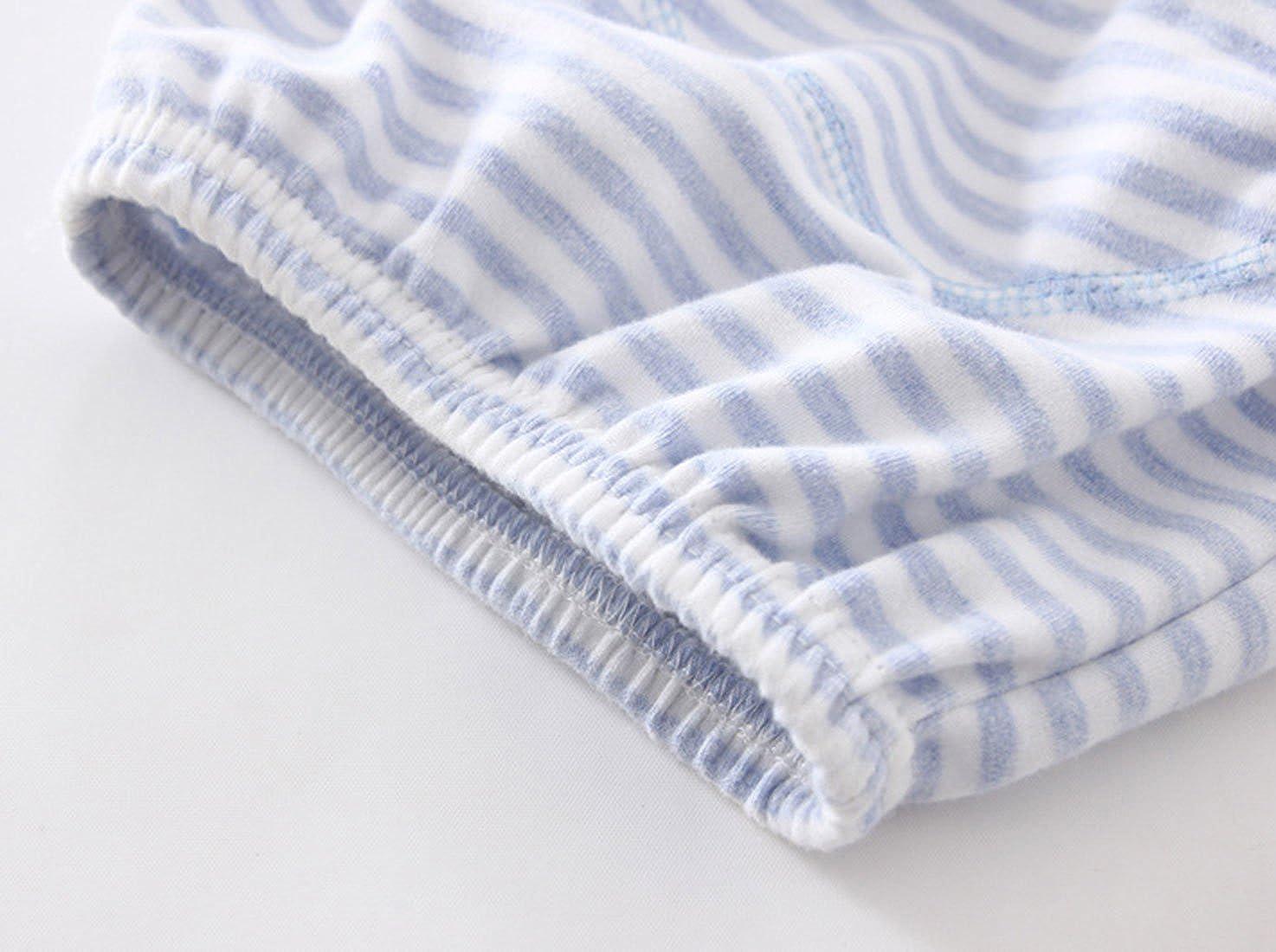 HANIBEIWA Baby Boys Training Pants Waterproof Potty Training Underwear Cotton Soft Pants 3 Pcs