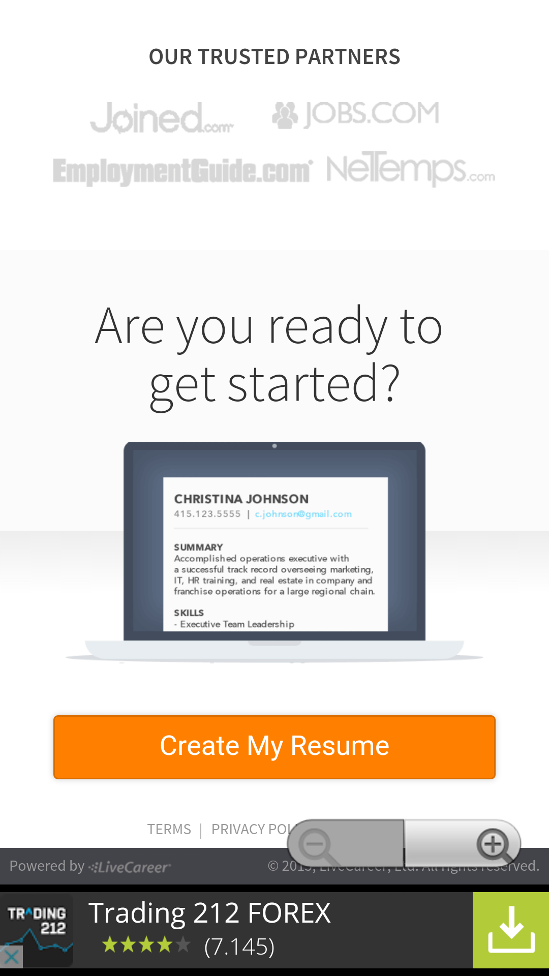 Amazon LiveCareer Jobs Appstore For Android