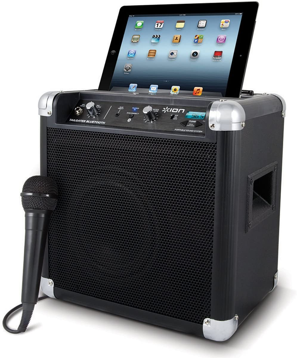 [Obsolete] Ion Audio iPA57 Tailgater Bluetooth Portable Speaker System with Auxiliary USB Charger