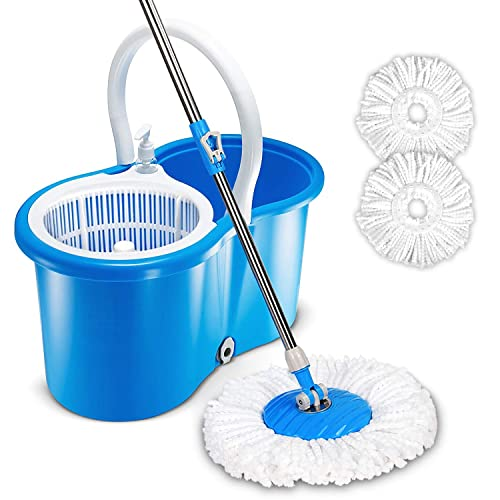 Hurricane Spin Mop Replacement Head And Handle Amazon Com