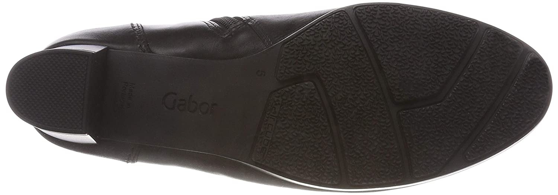 Gabor Comfort Basic, Basic, Comfort Stivaletti Donna Nero Schwarz Micro) 57) 1d4107