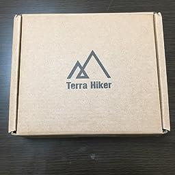 Amazon Terra Hiker 自転車ロック 5桁 全長100cm ケーブルロック パスワード自由設定 スチールロック チェーンロック バイク用 ブラック Terra Hiker チェーンロック