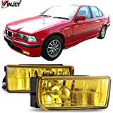 XYZMOT 2Pcs Front Hood Lift Supports Struts 4637 SG302009 For 1992-1998 BMW E36 318 325i 328i M3 Base Sedan