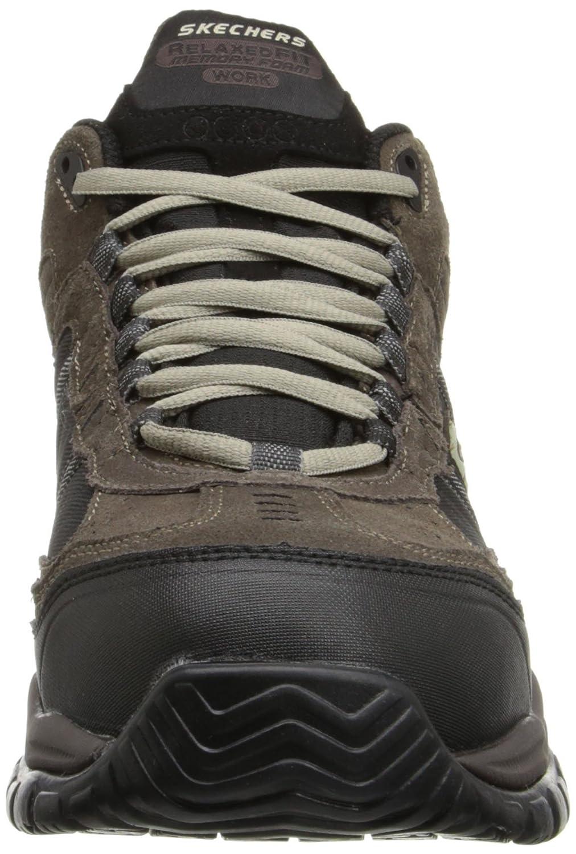 Skechers for Work Men's 70727 Soft Stride Canopy Slip Boot Resistant Work Boot Slip B00JBVSLMS Industrial & Construction fd44bb